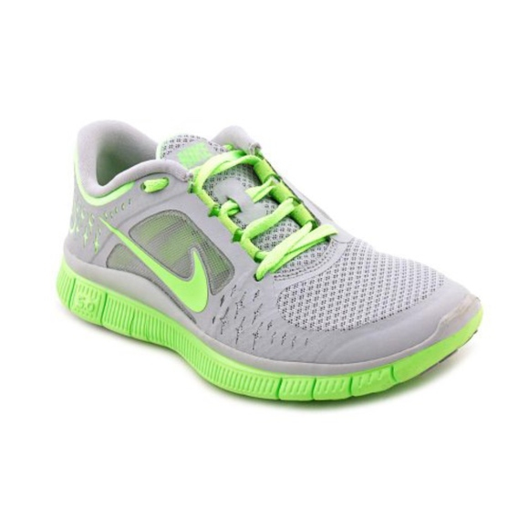 3e3a95afd0a ... free shipping nike free run 3 womens gray green running shoes 021dd  c9eee